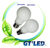ce,rohs approved GLS 6.5W LED bulb with high lumen
