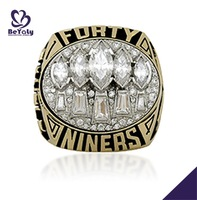 1994 Forty Niners Championship gold cheap fake wedding rings