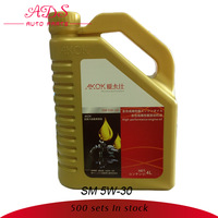 competitive price synthetic petrol engine oil OEM: SM 5W-30