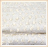 small flower patterns embroidery on fabric in Guangzhou all-match style