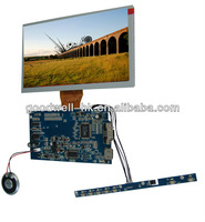 Touch 8 Inch Screen LCD 800x 480 with HDMI Input for Industries