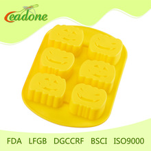 FDA standard halloween pumpkin cake mould made in China