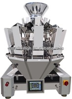 SW-M10 2014 10 Head 2.5L Hopper Fake Meat Multihead Weigher