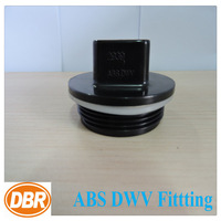 pvc pipe fitting end cap CUPC NSF ASTM ABS 6 inch plastic fittings/hdpe pipe fitting