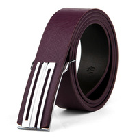 Fashion real leather belts buckle for men