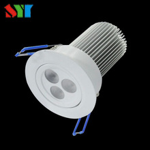 high CRI 3* 2 watt recessed led mini downlight