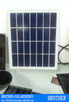 epoxy and glass cell 1.5W 9V small solar panel