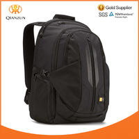 New Arrival Black Blank Plain Canvas Backpack Wholesale