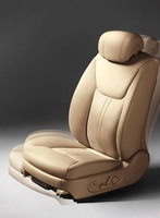 car seat cover made of artificial leather similar with leather