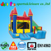 Outdoor inflatable jumper for kids,inflatable bouncer with slide,bounce house with slide