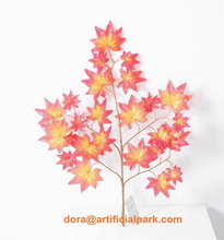 SJH100732 artificial maple leaves artificial autumn leaves