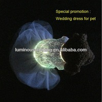 Luminous fabric high fashionable party clothes dog sex apparel sweaters clothes supplies for puppies