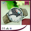 2016 New product watch vintage denim color change leather watch vogue watch ladies