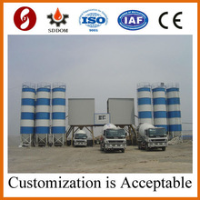 Self Loading Concrete Batching Plant for Sale China Manufacturer
