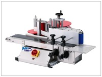 Tabletop water bottle labeling machine