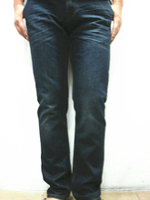 men's washed denim jean long pant(M230)