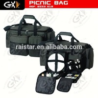 Fishing tackle bag with picnic set / japanese fishing nets / fish oil in bulk