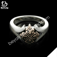 2014 new trendy fashion cool modern gents gold rings