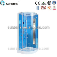 Tempered glass 3 way valve bathroom bizarre smart glass shower