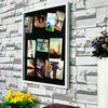 Hot sale in Alibaba beautiful elegant 11 metal clips antique decorative photo frame
