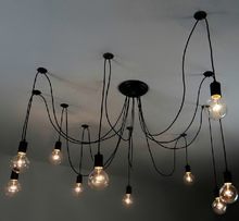 Pendant Chandelier Modern lighting Industrial Chandelier/Black Hanging Pendants Rustic Lighting
