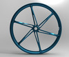 2014 newest magnesium fashion electric mountain bike wheel