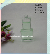 100ml bottle perfume glass bottle