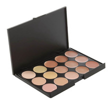 New 15 color Naked Eye shadow Camouflage Concealer Palette Make Up Eye Shadow Eye