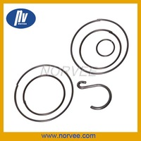 special flat spiral springs S shape springs for metal clip