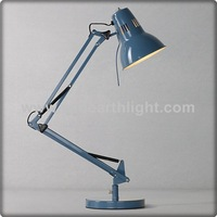 Modern study room Swing arm blue Led Office Desk Lamp T30186