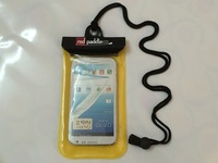 Hot selling PVC WATERPROOF CELL PHONE POCKET for swimming