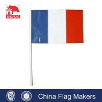High quality outdoor France flying flag banner