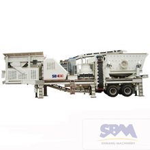 SBM Easy Operation High Quality and Low Costs Portable Cone Crushing Plant for Sale