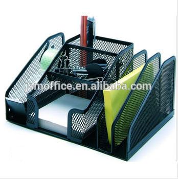 Wire mesh drawer desk organizer buy desktop organize - Wire desk organizer ...