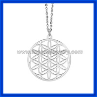 2014 Fashion jewelry new product flower of life pendant necklace