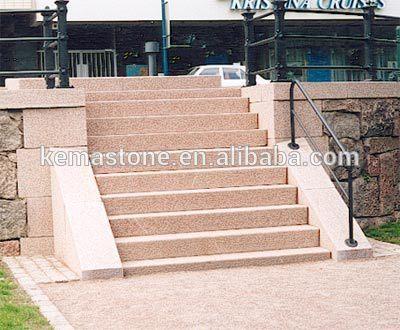 anti rutsch granit outdoor treppenstufen treppe produkt. Black Bedroom Furniture Sets. Home Design Ideas