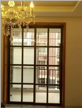 Most popular Decoration Sliding Door Glass