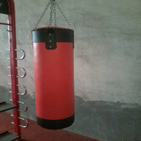 Kick Boxing Punching bag/sandbag with chain/Fitness equipment Accessory (LD-137)