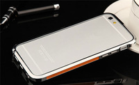 2014 new arrive high quality back cover with transparent PC protector for iphone 6 aluminum case