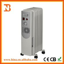 Elegant home fan heater oil filled radiator for sale