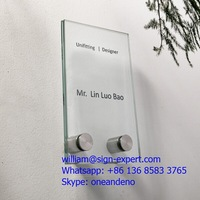 Stainless Steel Signage Acrylic Holder Glass Standoff