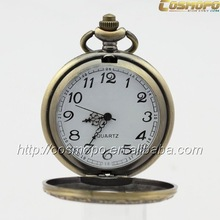 3 atm stainless steel case back watch,fashion pendant watch,discount pocket watch