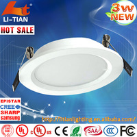 dimmable led downlight,High Quality customize 90100 lmw 3w led downlight