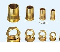 New products copper pipe fittings water meter connector made in china