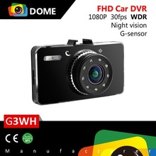 "New Novatek 96650 Car DVR G3W Full HD 1080P 30fps+2.7""LCD+Night Vision+G-Sensor+H.264"