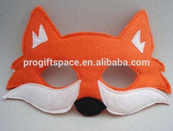 Как сделать маску лиса из бумаги своими