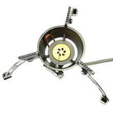 2015 High Cost Performance Windproof Energy Saving portable gas stove for snow mountain usage