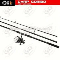 2014New carp fishing coarse fishing starter-feeder tackle set aiko fishing rod