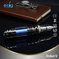 Fashionable design man style durable stainless fancy e cigs china wholesale e cigs dry herbs e cigs