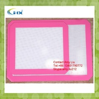 G-2015 Wholesale non stick silicone baking mat sheet